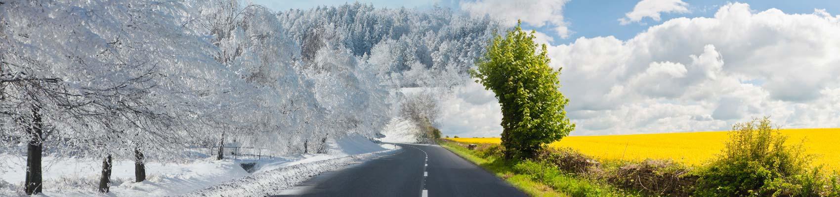 Slider téli-nyári kép